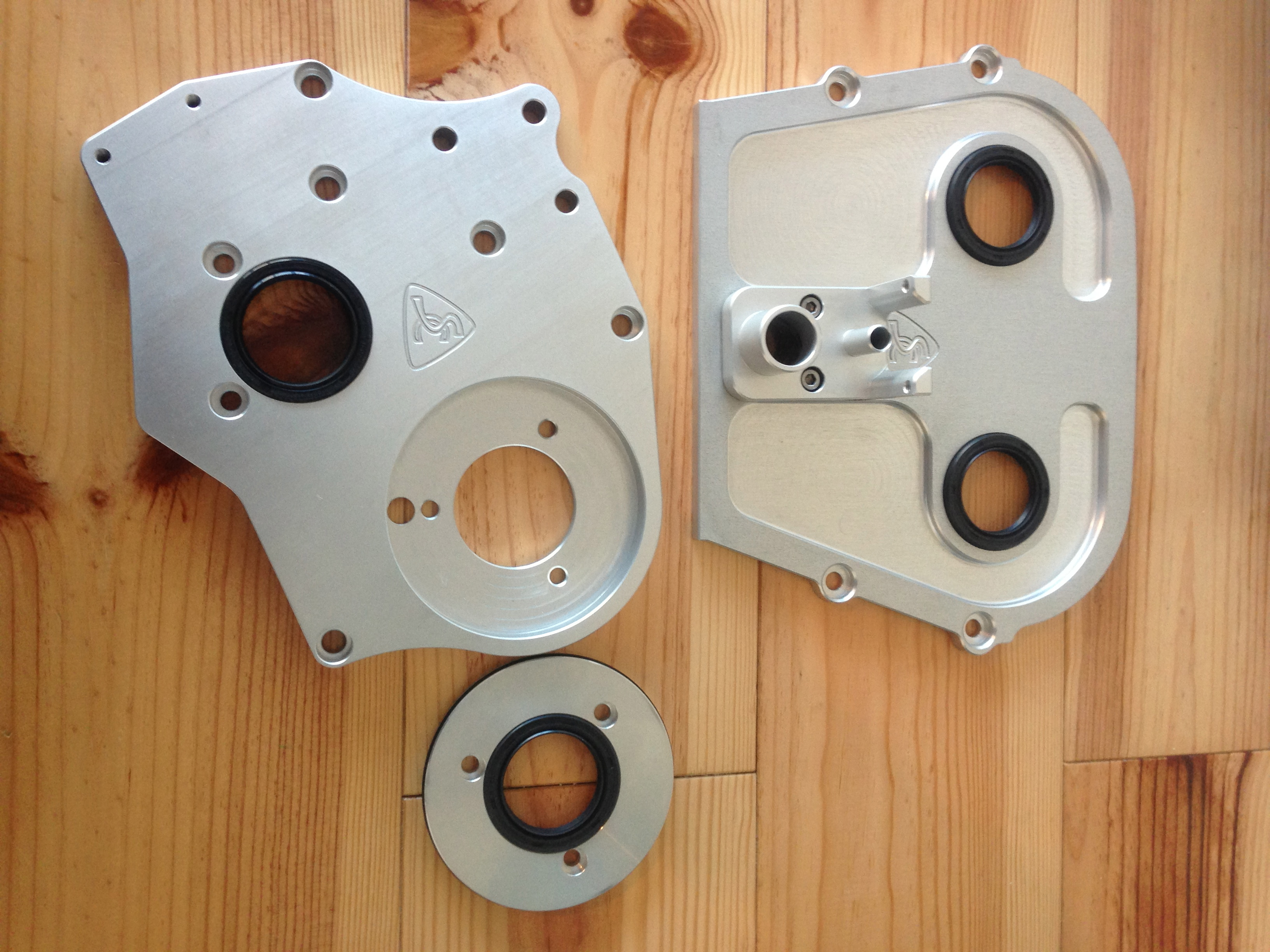 Uncategorized well pump house covers austin locking sump lid - Sc Billet Timing Cover Plate And Head End Plate