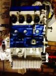 Engine assembled